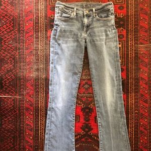 Flare/boot cut Citizens of Humanity jeans.